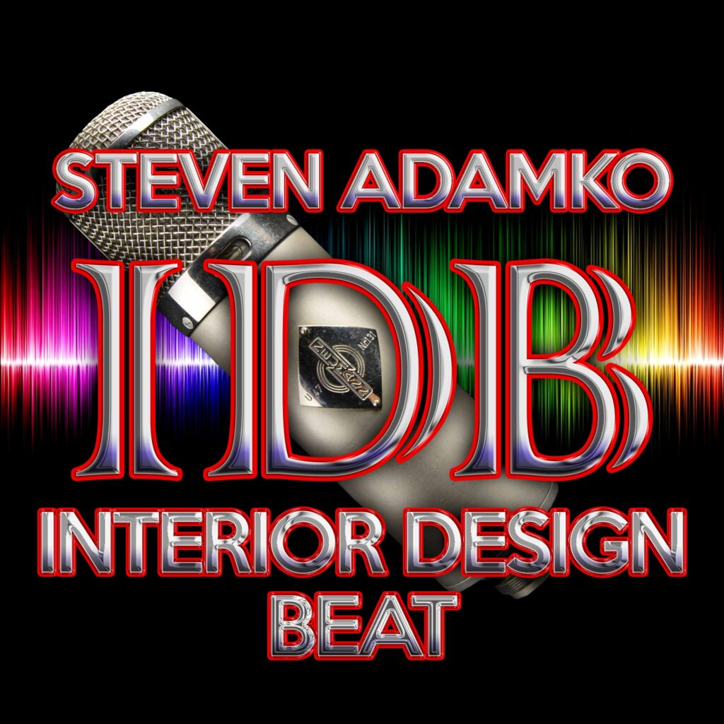 Interior Design Beat Podcast Logo Created by Steven C. Adamko